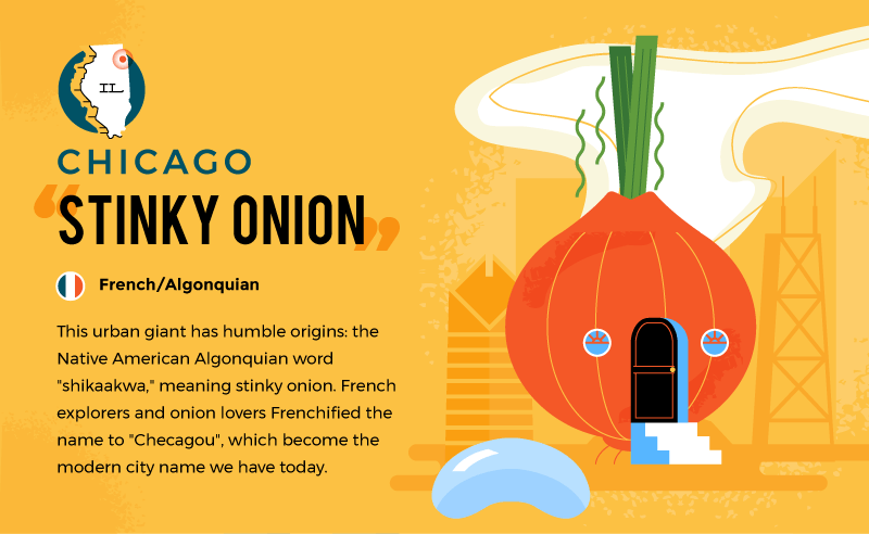 literal name of chicago - stinky onion