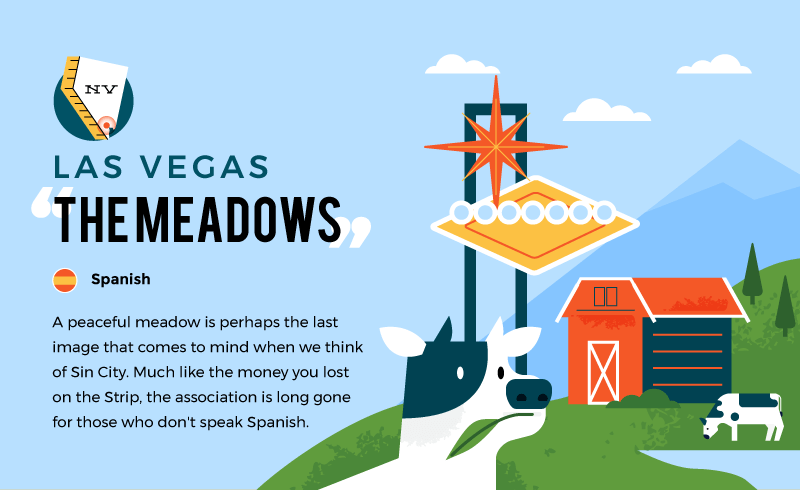 literal name of las vegas - the meadows
