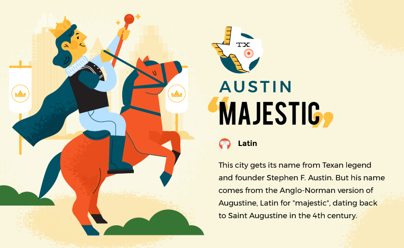 literal name of austin - majestic
