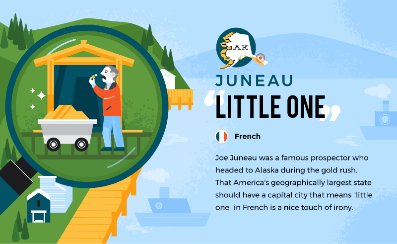 literal name of juneau - little one