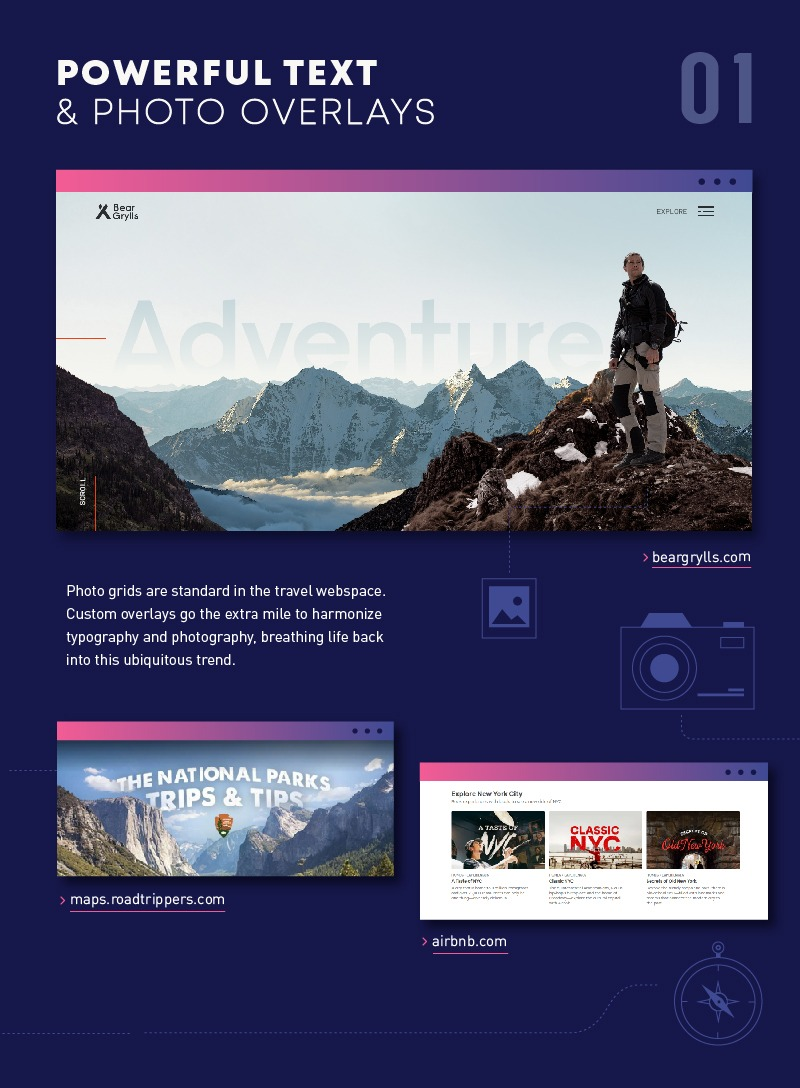 8 Travel Web Design Trends For 2019 And Beyond Infographic Runaway Suitcase