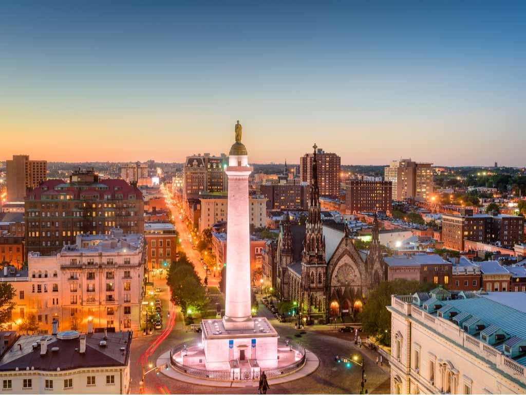 Baltimore Maryland Travel Horoscope