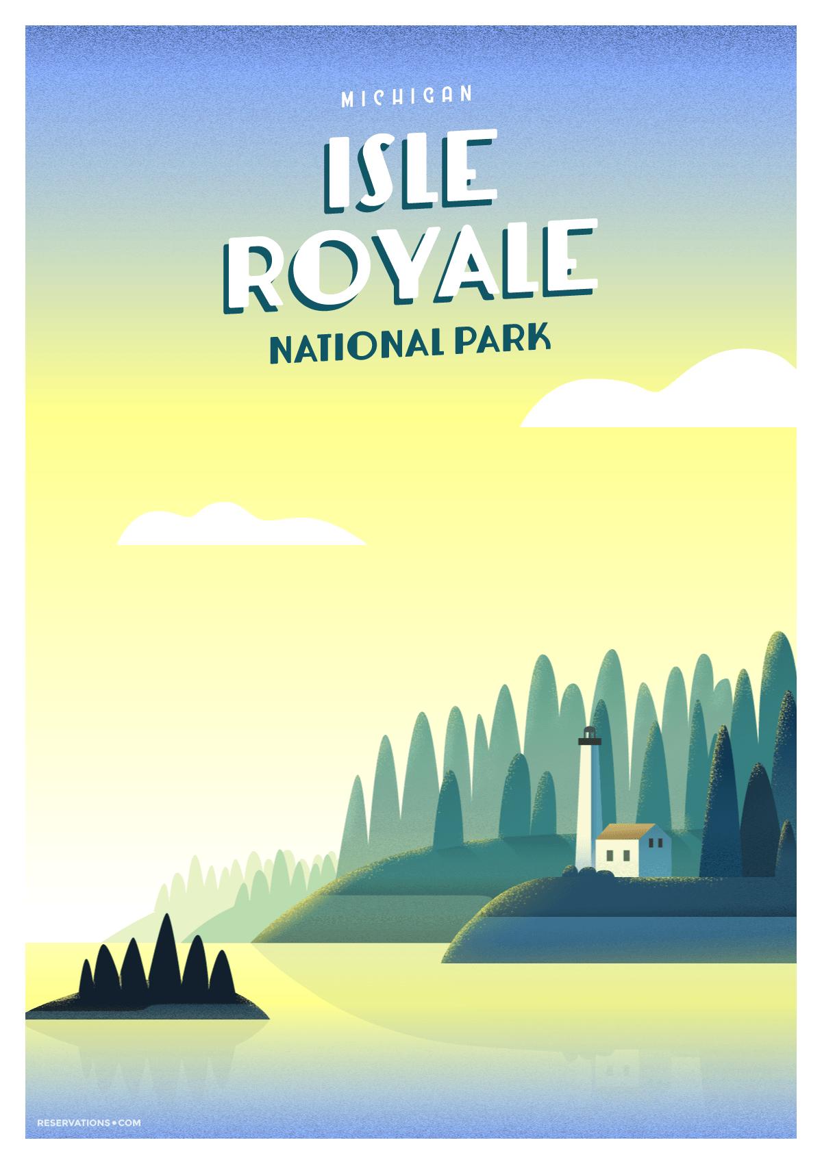 Isle Royal National Park, Michigan
