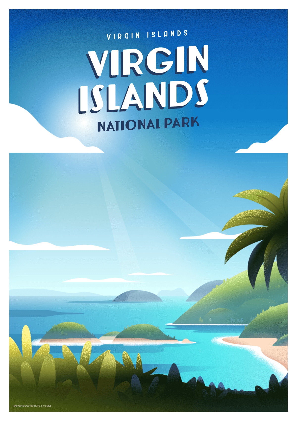 virgin islands poster