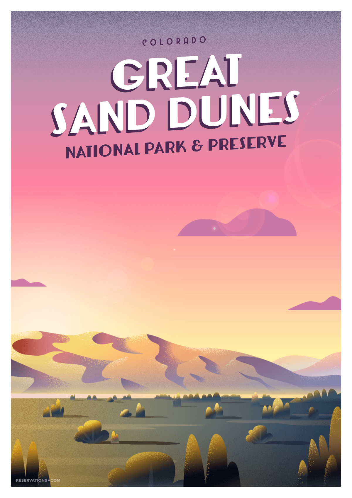 Great Sand Dunes National Park & Preserve Colorado