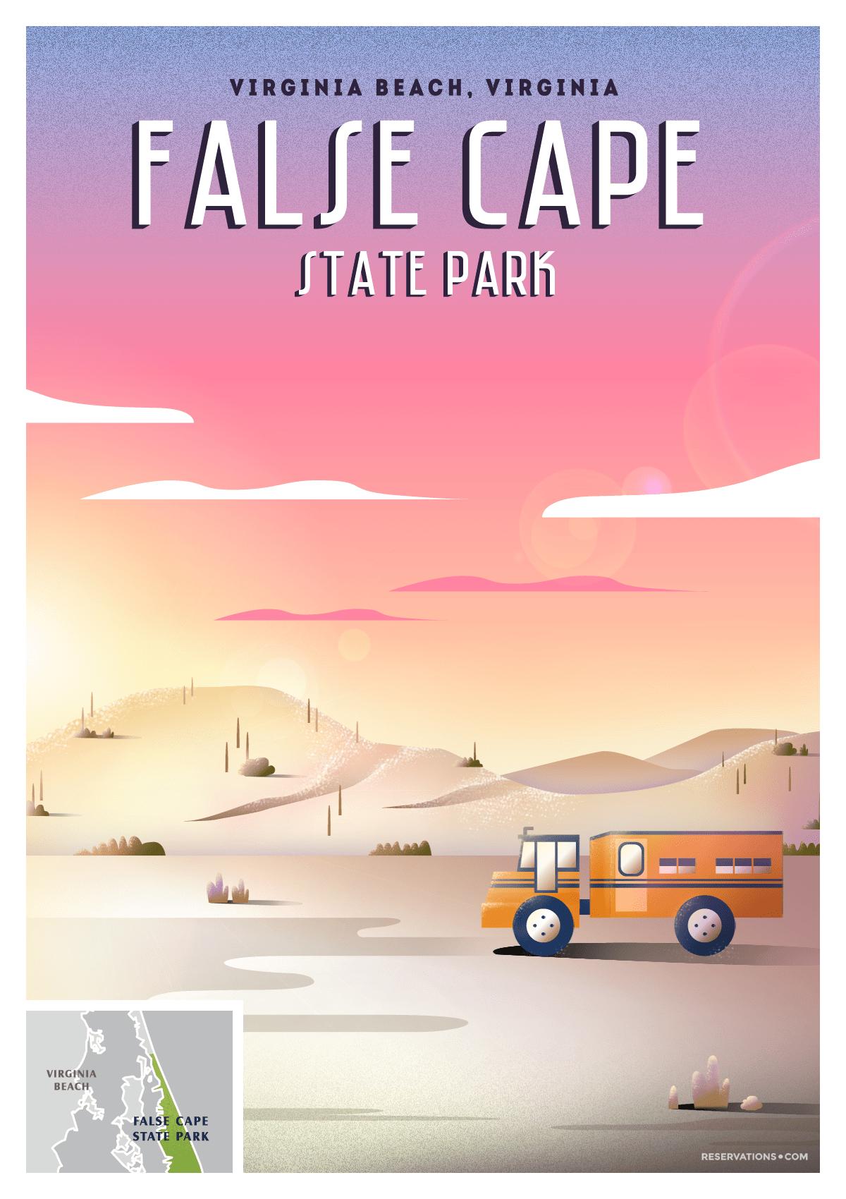 false cape florida poster