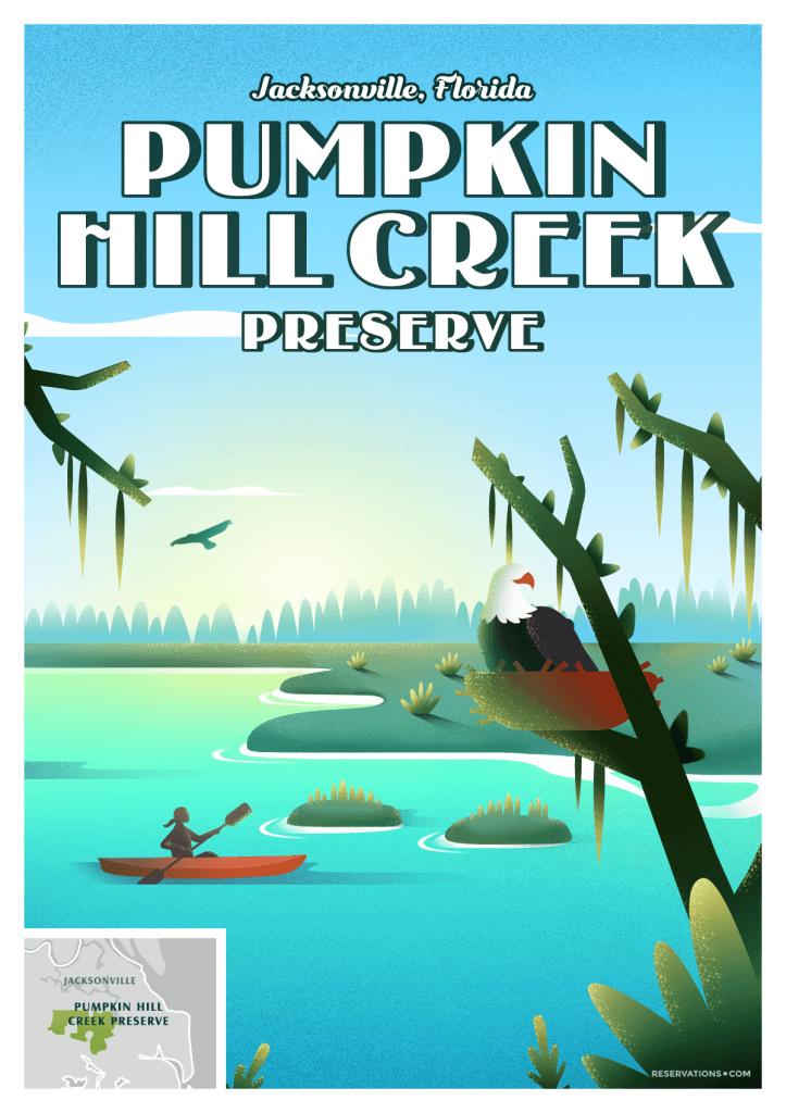 pumpkin hill creek preserve poster