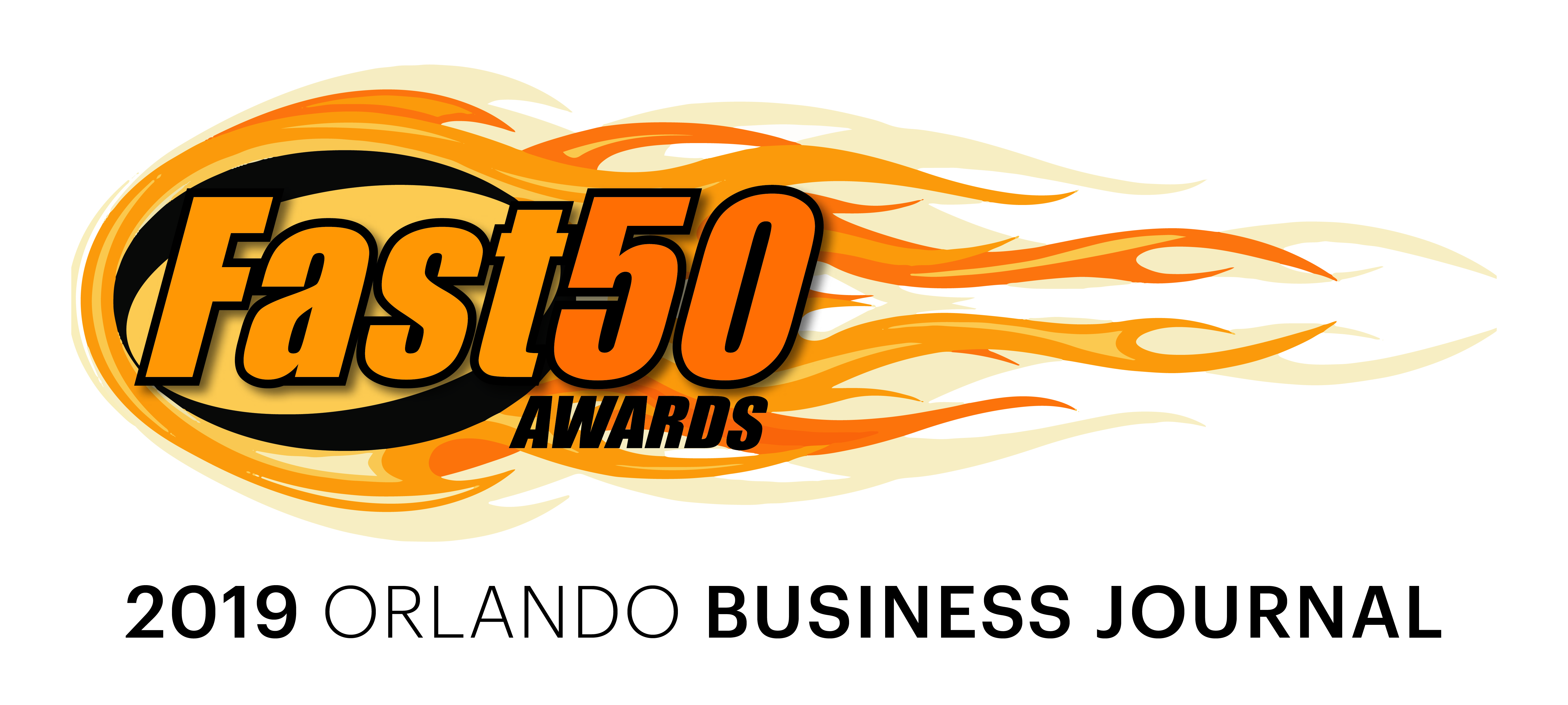 Orlando Business Journal's 2019 Central Florida Fast 50 Logo
