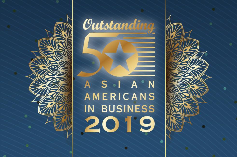 Oustanding 50 Asian Americans in Business Logo